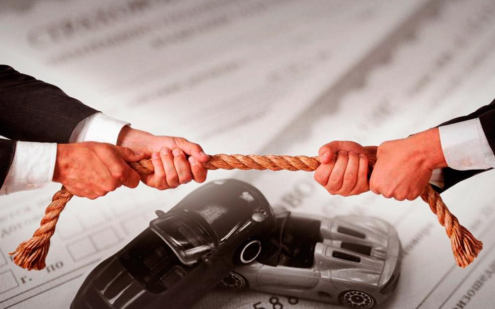 разрешение спора страховой компанией компании страхования каско суд